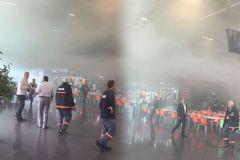 Bursa Otogarı'nda Yangın