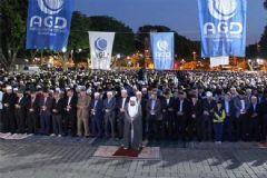 Binlerce Kişi Ayasofya'da  'Fetih Namazı' Kıldı
