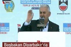 Binali Yıldırım Başbakan Olarak İlk Kez Diyarbakır'da Konuştu