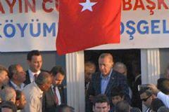 Cumhurbaşkanı Erdoğan PKK'nın 16 Vatandaşı Katlettiği Dürümlü Köyü'nde