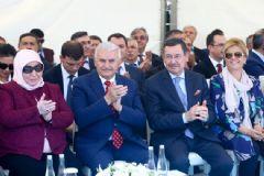 Başbakan Binali Yıldırım, Osmanlı Halk Pazarı'nın Açılışını Yaptı