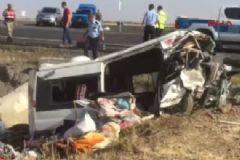 Diyarbakır Şanlıurfa Karayolunda Trafik Kazası: 6 Ölü 4 Yaralı