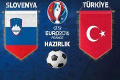 Slovenya'yı Yenen Milliler EURO 2016'ya Hazır