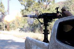 Rejim Güçleri Türkmen Dağına Saldırdı