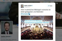Almanya'dan Ramazan Mesajı