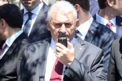 Başbakan Yıldırım Polis Telsizinden Anons Yaptı