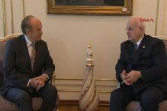 Kahraman, Vali Şahin'i ve Belediye Başkanı Topbaş'ı Ziyaret Etti