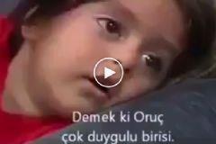 5 Yaşındaki Çocuğun Gözünden Ramazan Ayı
