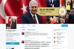 Başbakan Binali Yıldırım Resmi Hesabından İlk Tweetini Attı