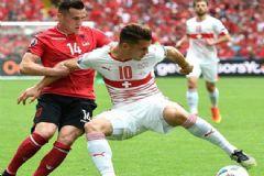 İki Ayrı Takımda Oynayan Xhaka Kardeşler EURO 2016'da Tarihe Geçti