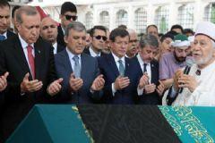 Erdoğan, Gül ve Davutoğlu Kurtulmuş'un Eniştesinin Cenazesine Katıldı