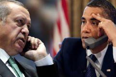 Erdoğan Obama ile Telefonda Görüştü