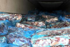 116 Ton Kaçak Kırmızı Et Ele Geçirildi