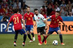 Fransa'da Kabus Gece: İspanya:3 - Türkiye: 0