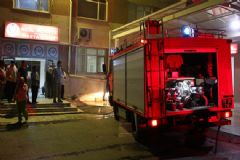 Kırklareli Devlet Hastanesi'nde Korkutan Yangın
