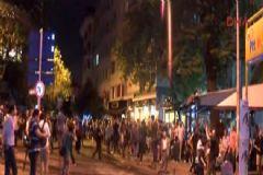 Firuzağa'daki Saldırıyı Protesto Etmek İçin İzinsiz Toplanan Gruba Polis Müdahale Etti