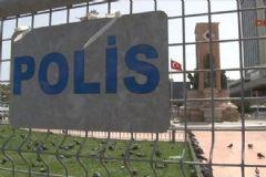 Taksim'de Geniş Güvenlik Önlemleri Alındı
