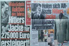 Münih'te Adolf Hitler'in Ceketi 275 Bin Euro'ya Satıldı
