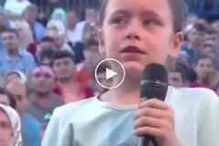 Küçük Çocuğun Nihat Hatipoğlu'na Yöneltiği Soru Herkesi Ağlattı
