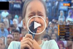 Nihat Hatipoğlu'nun Programına 10 Yaşındaki Gizem Herkesi Ağlattı