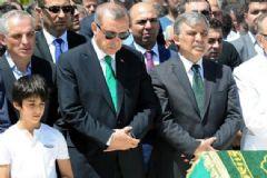 Erdoğan Ve Gül Ali Karaalioğlu'nun Cenazesine Katıldı