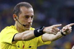 Cüneyt Çakır İtalya-İspanya Maçını Yönetecek