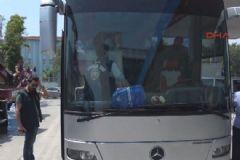 İstanbul'da Şüpheli Otobüs Polisi Alarma Geçirdi
