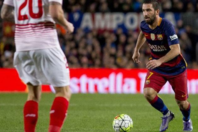 Arda Turan Barcelona Sevilla Maçının Yıldızı Oldu