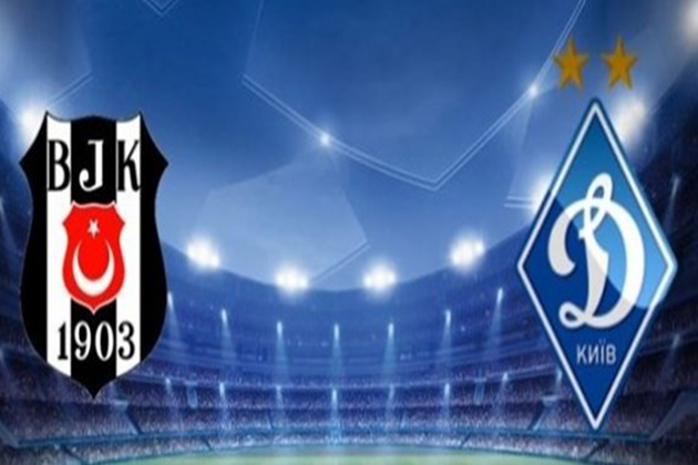 İşte Beşiktaş'ın Dinamo Kiev İlk 11'i