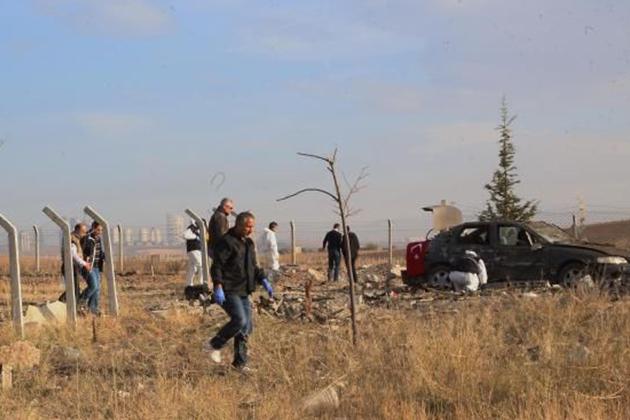 Ankara'da İki Canlı Bomba Kendini Patlattı!