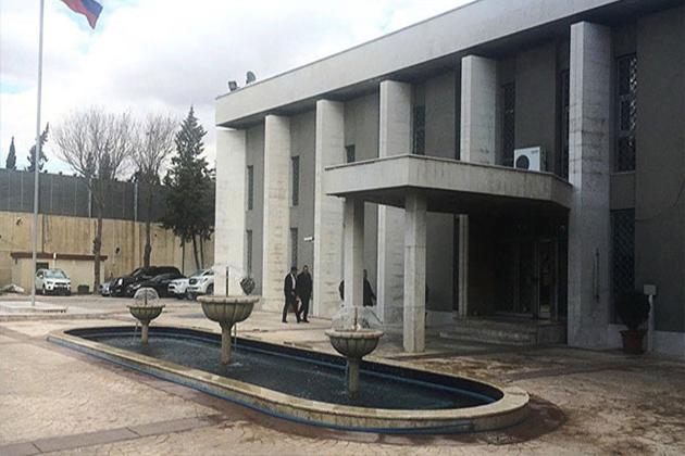 Şam'daki Rusya Büyükelçiliği'ne Saldırı