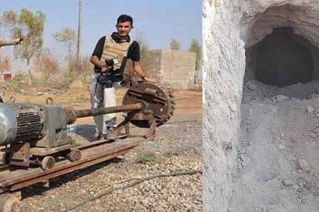Musul'da IŞİD'in O Makinesi Ele Geçirildi