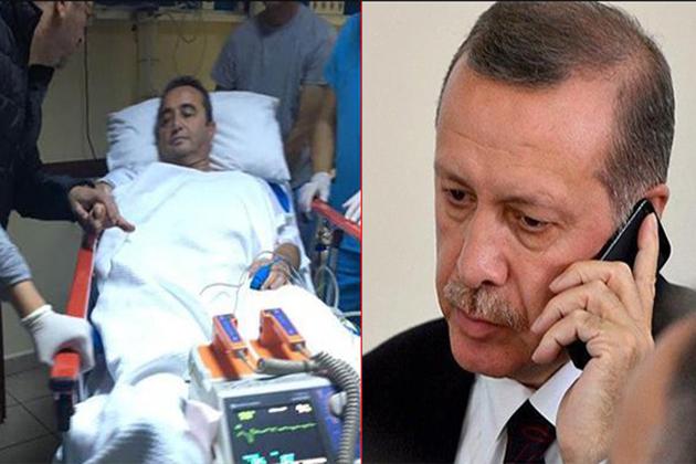 Cumhurbaşkanı Erdoğan, Bülent Tezcan'ı Aradı