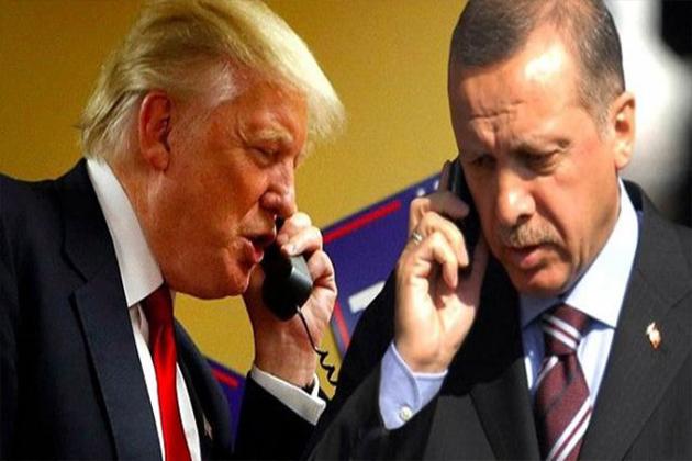 Cumhurbaşkanı Erdoğan Trump'ı Tebrik Etti