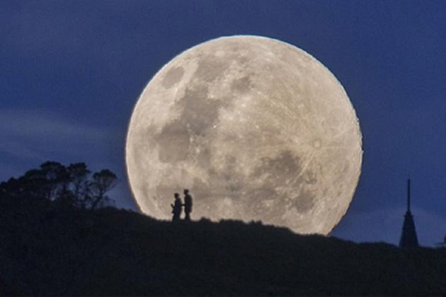 Gökyüzünde Muhteşem Olay: Süper Ay