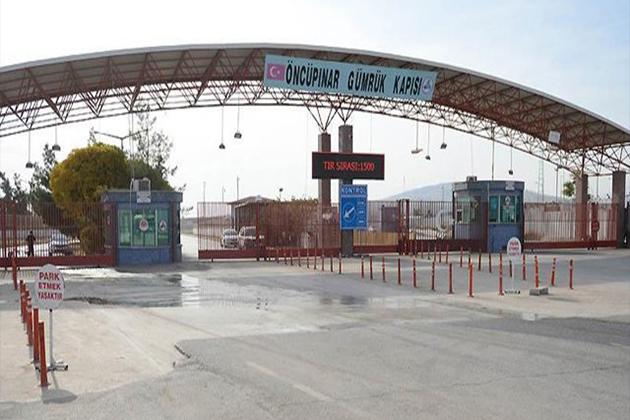 Öncüpınar Sınır Kapısı Açıldı