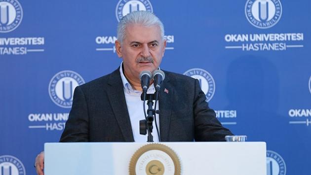 Başbakan Binali Yıldırım, Okan Üniversitesi Hastanesinin Açılışında Konuştu