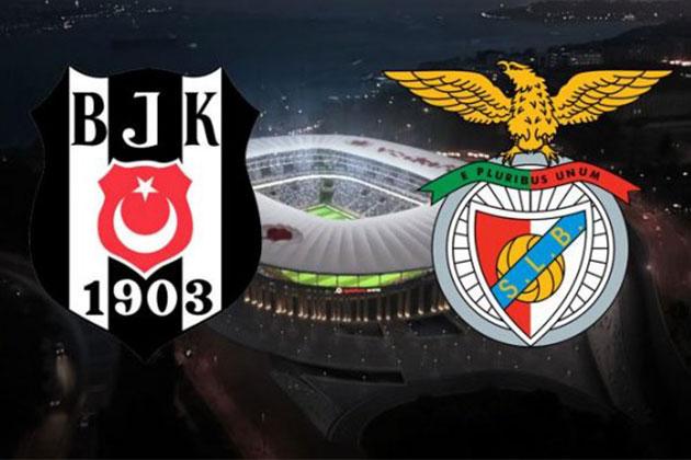 Beşiktaş – Benfica Maçı Saat Kaçta?