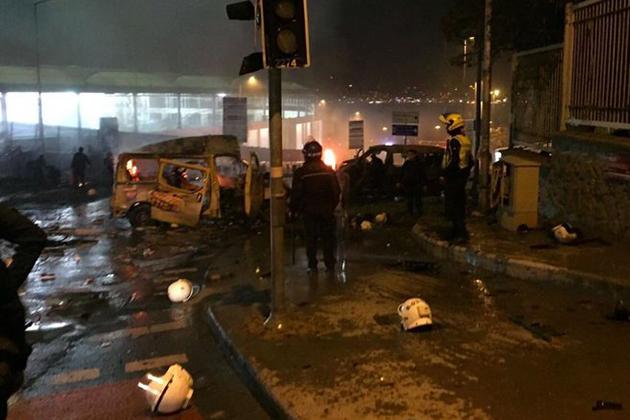 İstanbul'da Patlama! En Az 20 Yaralı!