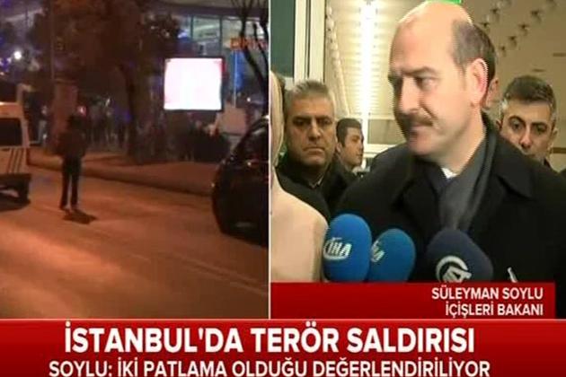 Süleyman Soylu İstanbul'a Geldi, İşte İlk Açıklama