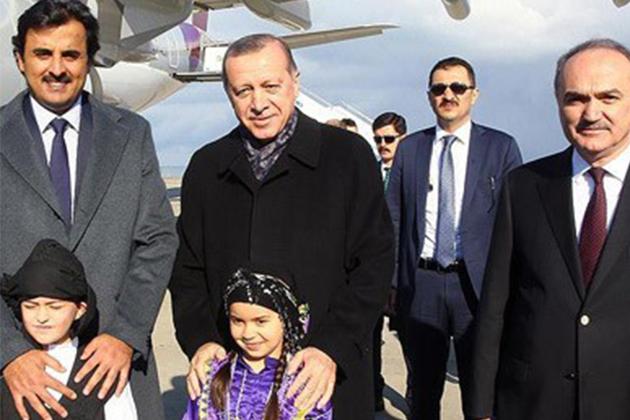 Cumhurbaşkanı Erdoğan, Katar Emiri Al Sani ile Trabzon'da