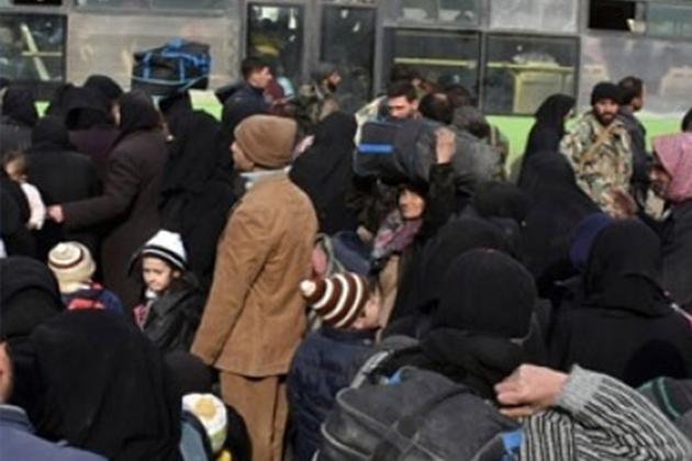 Halep'te Tahliyeler Yeniden Başladı