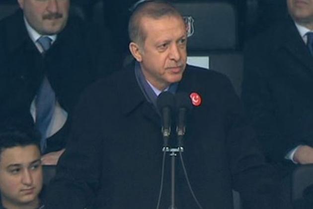 Cumhurbaşkanı Erdoğan Dayanışma Maçı Öncesinde Konuştu