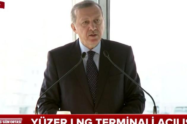 Cumhurbaşkanı Erdoğan FSRU Projesi Açılış Töreninde Konuştu