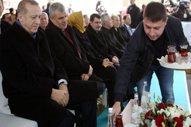 Erdoğan'ı Memnun Eden İkram