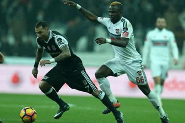 Beşiktaş Gaziantepspor'u Tek Golle Devirdi