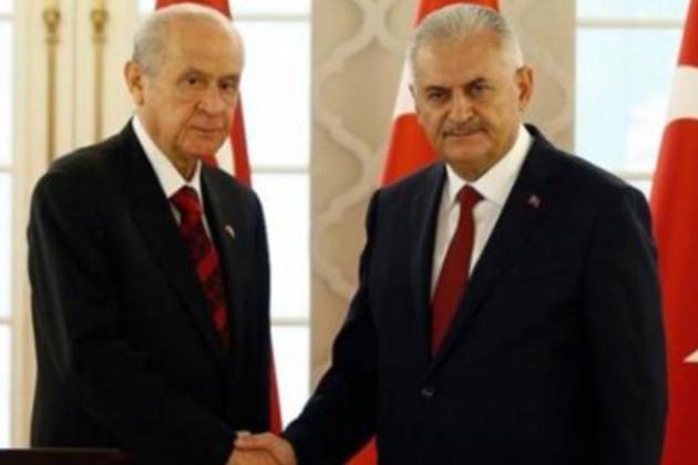 Başbakan Yıldırım, Bu Akşam MHP Lideri Bahçeli ile Görüşecek