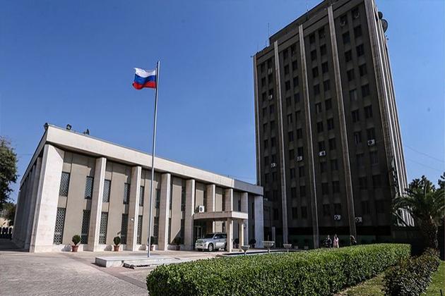 Rusya'nın Şam Büyükelçiliği'ne Bir Saldırı Daha!