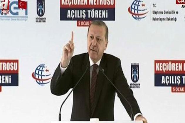 Cumhurbaşkanı Erdoğan:'20 Kilometreyi Geçmeyin Demeleri Tesadüf Değil'
