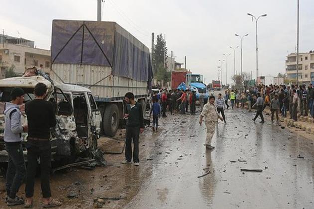 Suriye'nin Azez Kentinde Bomba Yüklü Araçla Saldırı: 60 Ölü